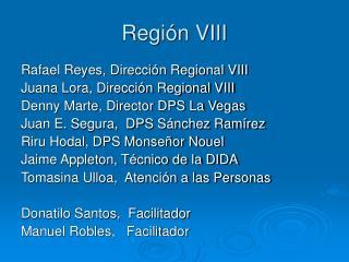 Región VIII