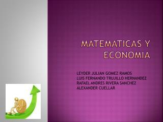 MATEMATICAS Y ECONOMIA