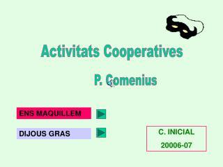 Activitats Cooperatives