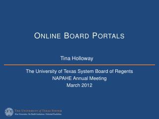 Online Board  Portals