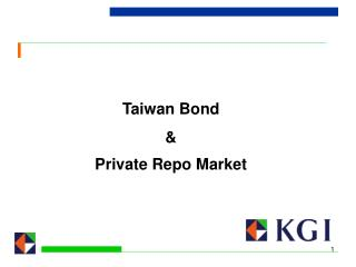 Taiwan Bond    Private Repo Market