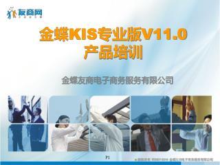 金蝶 KIS 专业版 V11.0 产品培训