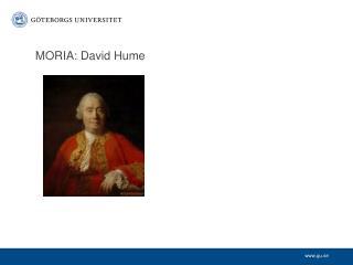 MORIA: David Hume