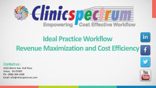 Workflow Plan for Practice Management - Increase Revenue and