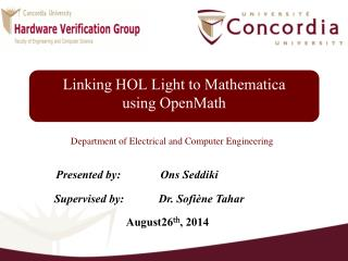 Linking HOL Light to  Mathematica using  OpenMath