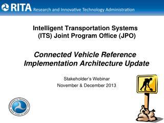 Intelligent Transportation Systems (ITS) Joint Program Office (JPO)
