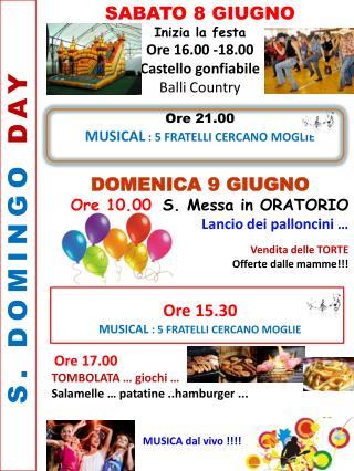 S. DOMINGO  DAY