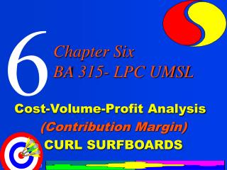 Cost-Volume-Profit Analysis         Contribution Margin            CURL SURFBOARDS