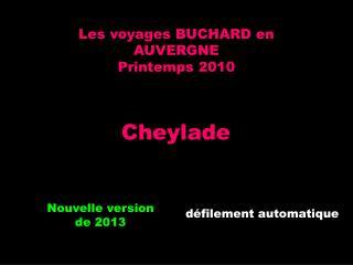 Les voyages BUCHARD en AUVERGNE Printemps 2010