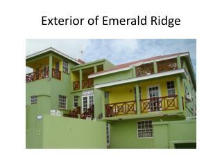 Exterior of Emerald Ridge