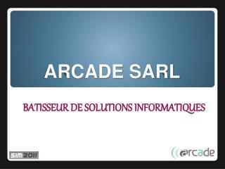 ARCADE SARL
