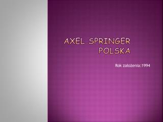Axel Springer Polska