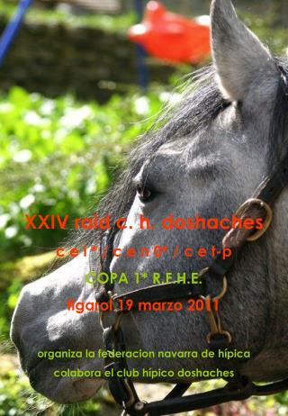 XXIV raid c. h. doshaches c e i * / c e n 0* / c e t-p COPA 1* R.F.H.E. figarol 19 marzo 2011