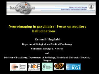 Neuroimaging in psychiatry: Focus on auditory hallucinations 	 Kenneth Hugdahl