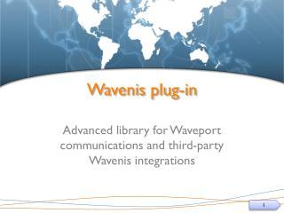 Wavenis plug-in