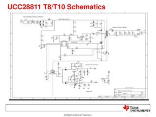 UCC28811 T8/T10 Schematics