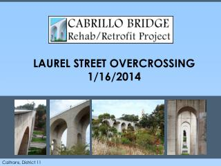 LAUREL STREET OVERCROSSING 1/16/2014
