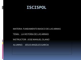 ISCISPOL
