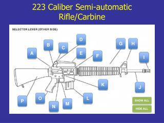 223 Caliber  Semi-automatic  Rifle/Carbine