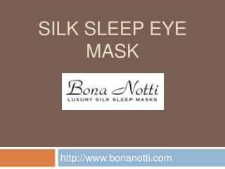 Luxury Eye Masks