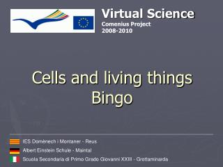 Cells and living things Bingo