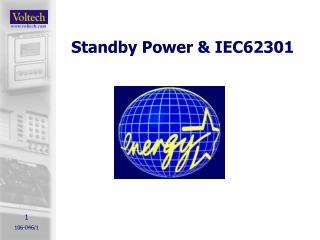Standby Power & IEC62301