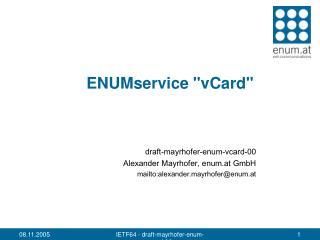 ENUMservice