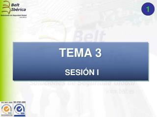 TEMA 3 SESI�N I