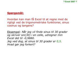 Sp�rgsm�l: