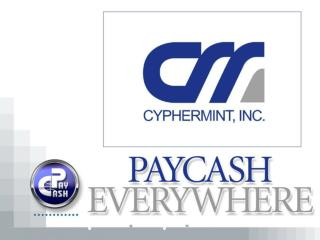 PayCash Mobile Components