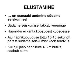 ELUSTAMINE