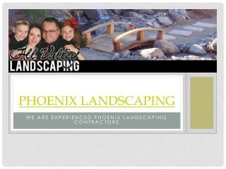 Phoenix Landscaping