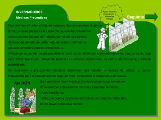 INVERNADOIROS Medidas Preventivas