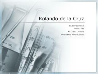 Rolando de la Cruz