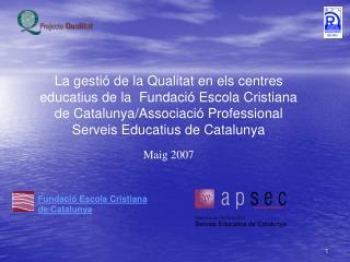 Fundaci� Escola Cristiana de Catalunya