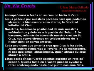 Un Vía Crucis