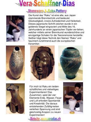 Stoneware & Raku Pottery