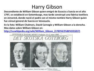 Harry Gibson