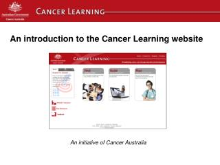 An introduction to the Cancer Learning website