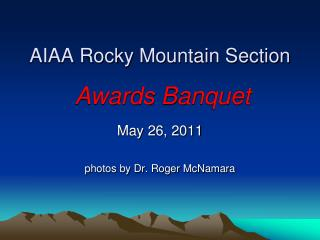 AIAA Rocky Mountain Section