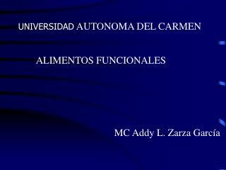 UNIVERSIDAD  AUTONOMA DEL CARMEN