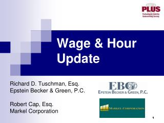 Wage & Hour Update