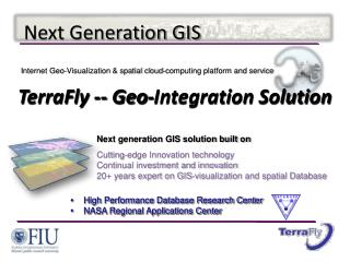 Next Generation GIS
