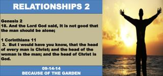 Genesis 2 18. And the Lord God said, It is not good that the man should be alone;