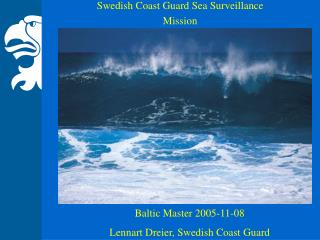 Swedish Coast Guard Sea Surveillance Mission