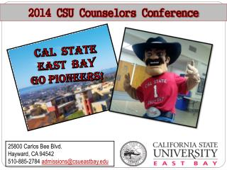 2014  CSU Counselors Conference
