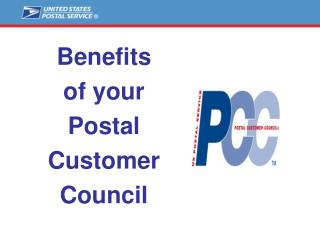 Benefits of PCC Membership