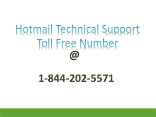 1-844-202-5571 |Hotmail password recovery support