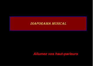 Diaporama musical
