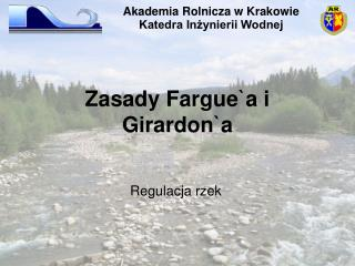 Zasady  Fargue`a i Girardon`a